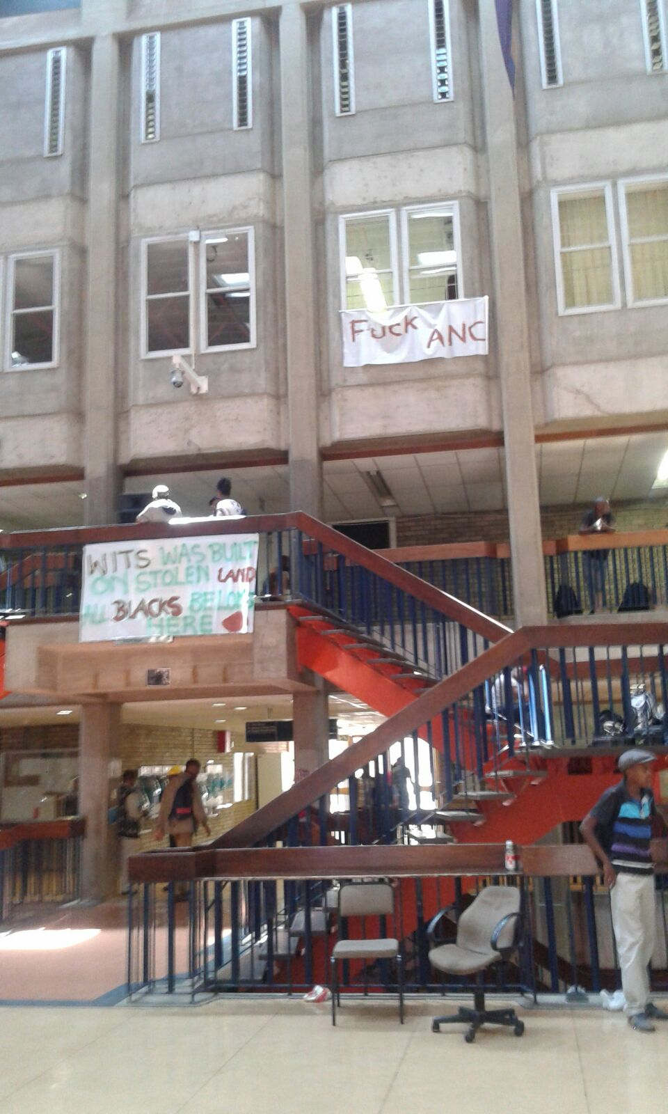 BLF occupies vacant house: Land is ours and everything in it