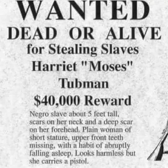 Legacy And Death Of Moses: BLF HONORS THE REVOLUTIONARY LEGACY OF HARRIET TUBMAN